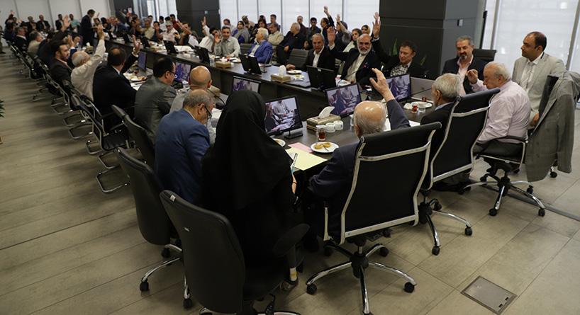 نشست اعضای اتاق با حضور مدیر کل آمریکای شمالی