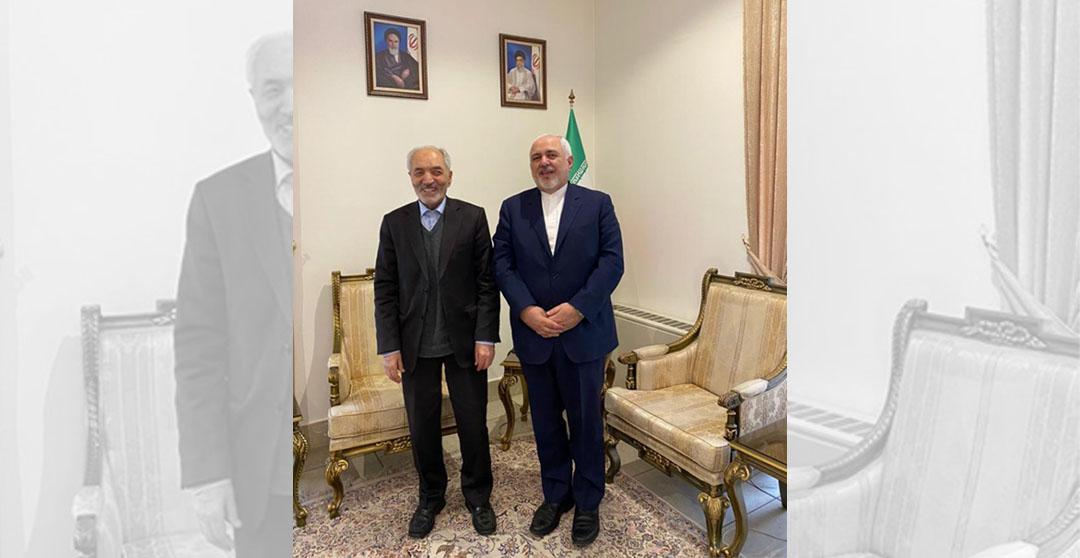 دیدار رئیس اتاق بازرگانی ایران و کانادا با جناب آقای دکتر ظریف