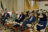 دیدار سرجیو مارچی وزیر سابق دولت کانادا و نماینده بخش خصوصی این کشور با علاء میرمحمدصادقی رئیس اتاق بازرگانی ایران و کانادا