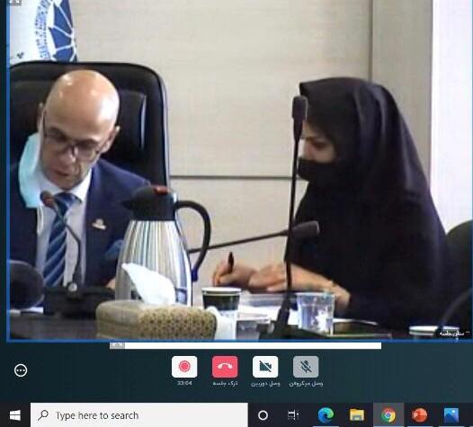 صورتجلسه مجمع عمومی عادی سالیانه  اتاق بازرگانی ایران و کانادا ثبت شده به شماره ۷۸۱۰ و شناسه ملی ۱۰۱۰۰۳۴۴۷۱۲